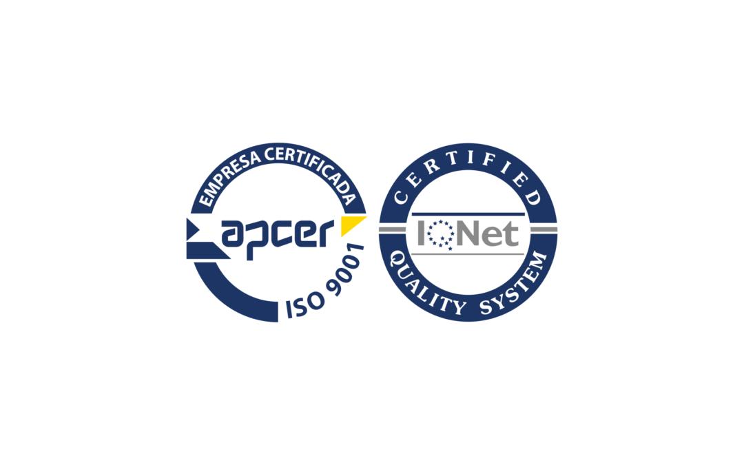 A Arconorte já se encontra certificada pela norma ISO 9001:2015